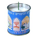 Traditional Yahrzeit Candel