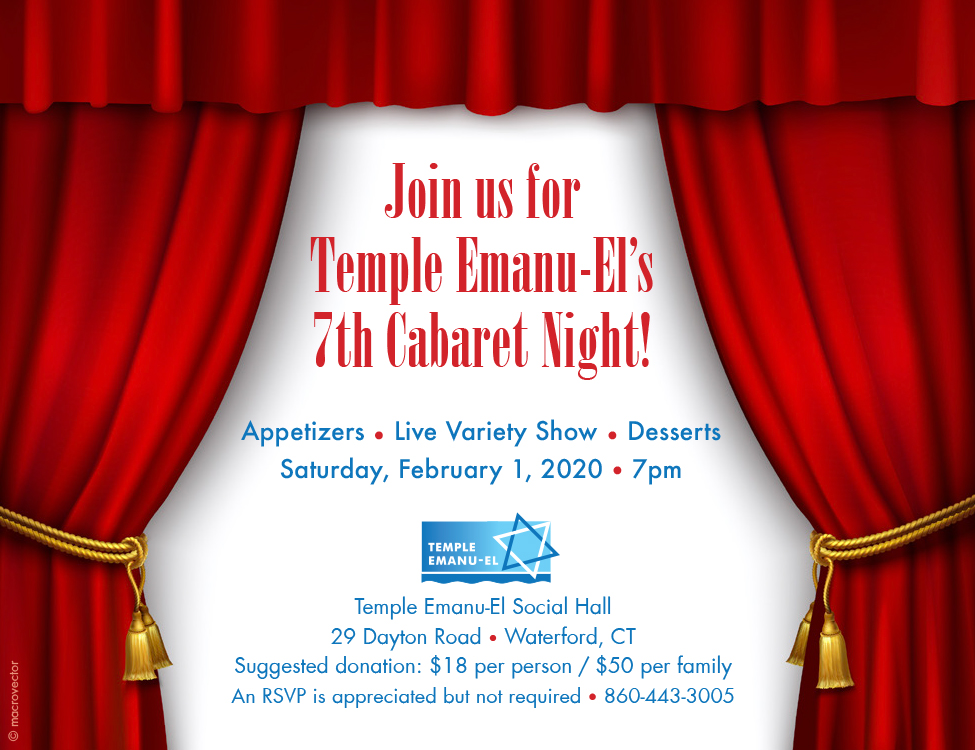 Join Us For Cabaret – Feb 1